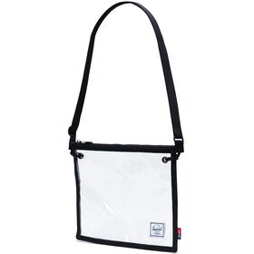 Herschel Alder Crossbody Bag black/clear
